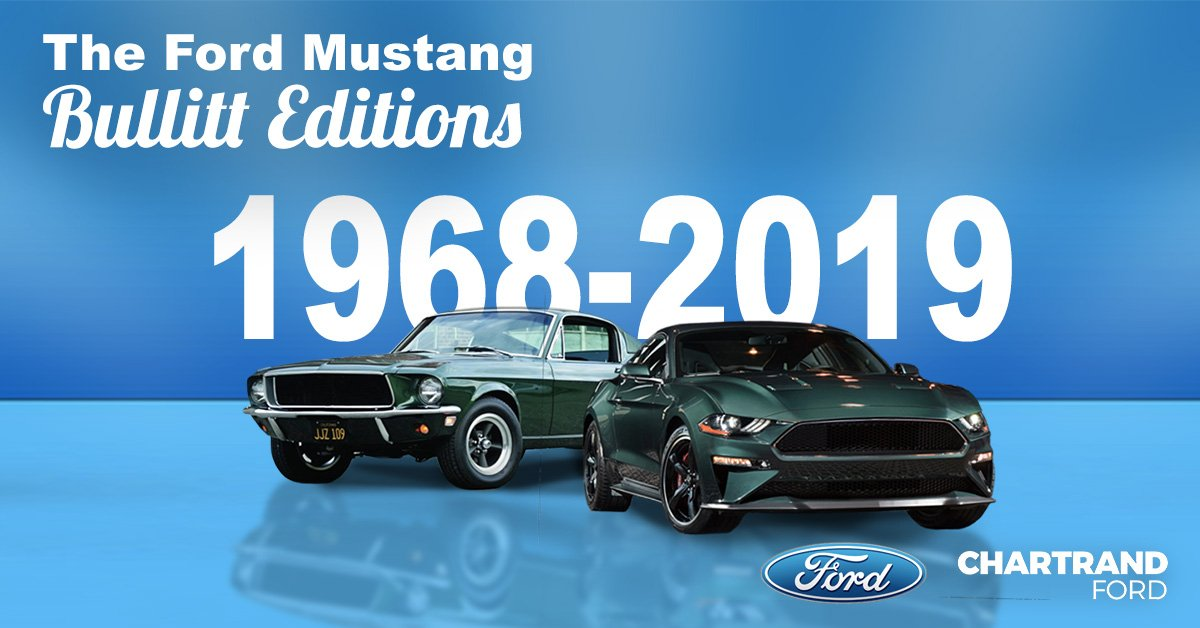 The Bullitt Editions Of The Ford Mustang From The First To The