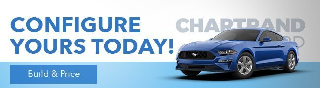 Configure your next Ford vehicle at Chartrand Ford dealership in Laval near Saint-Jérôme in Montreal.